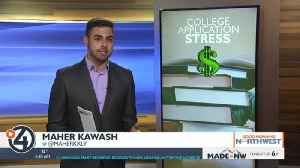 Curing college application stress [Video]