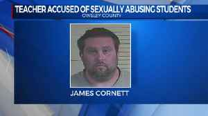 teacher charges with sex abuse [Video]