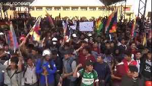 Supporters of deposed Bolivian president Evo Morales killed in police shootout