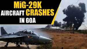 MiG 29K Fighter aircraft crashes in Goa, both pilots safe | OneIndia News [Video]