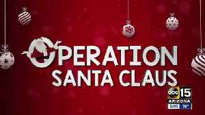 Kicking of the Season of Giving with Operation Santa Claus ! [Video]