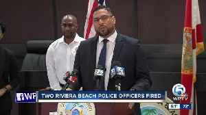 Two Riviera Beach police officers fired [Video]