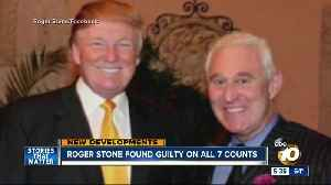 Roger Stone found guilty on all counts [Video]
