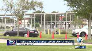 3 Centennial High School students accused of weapons possession, Port St. Lucie police say [Video]