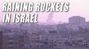 Hundreds of Rockets Fired on Israel [Video]