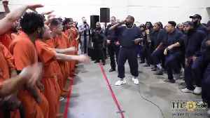 Rapper Kanye West performs for Texas jail inmates [Video]