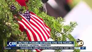 San Diego mother calls on community to sponsor wreaths for veterans [Video]