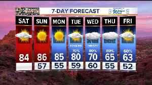 Nice and warm weekend before BIG changes hit next week [Video]