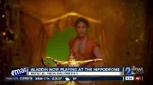 Aladdin opens at The Hippodrome, running till December [Video]