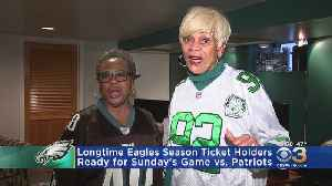 Longtime Eagles Season Ticket Holders Ready For Patriots [Video]