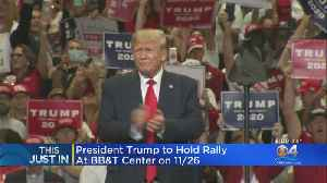 President Trump To Hold Late November Rally In South Florida [Video]