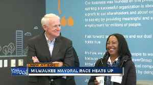 The Milwaukee mayoral race is starting to heat up. Barrett has held the office for 15 years [Video]