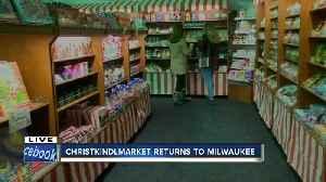 The Christkindlmarket is is back in Milwaukee near Fiserv Forum [Video]