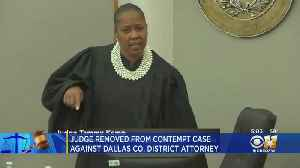 Judge Tammy Kemp Will Not Preside Over Dallas DA Contempt Case [Video]