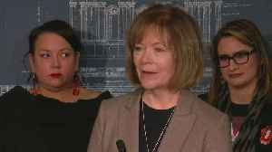 Tina Smith, Peggy Flanagan Speak Out On Violence Against Indigenous Women [Video]