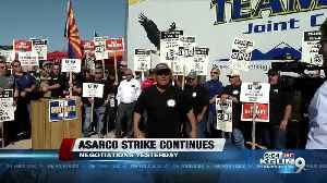 Teamsters: No progress in ASARCO strike after Thursday negotiations [Video]