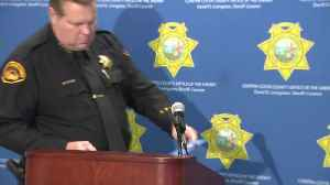 RAW: Contra Costa Sheriff David Livingston Gives New Details In Orinda Halloween Shooting Arrests [Video]