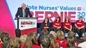 Bernie Sanders Makes Campaign Stop in Oakland [Video]