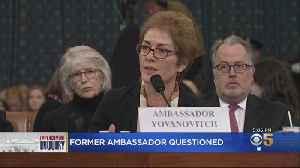 Former Ambassador To Ukraine Testifies In Impeachment Inquiry [Video]