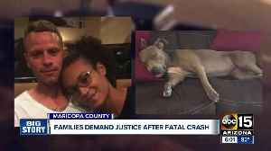 Families demand justice in deadly crash by red light runner [Video]