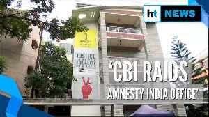 News video: CBI raids Amnesty India offices over alleged FCRA violations