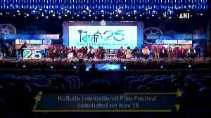 25th Kolkata International Film Festival concludes [Video]