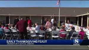 Sacred Heart School gets an early Thanksgiving [Video]