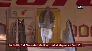 PM Modi arrives in Delhi after attending BRICS summit in Brazil [Video]