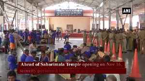 Security beefed up ahead of Sabarimala Temple opening in Kerala Pathanamthitta [Video]