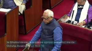 Uproar occurs inside Odisha Assembly over booklet on Mahatma Gandhi [Video]