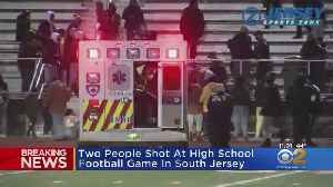 News video: 2 Shot At New Jersey High School Football Game