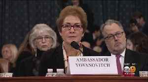 Marie Yovanovitch Testifies During 2nd Day Of Public Impeachment Hearings [Video]