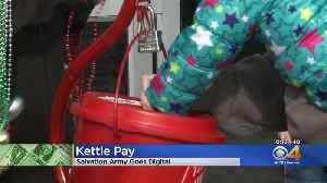 Salvation Army Red Kettles Go Digital [Video]