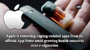 Apple pulls doown Vaping related Apps from App Store Report [Video]