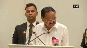 Clubbing news with views is problematic VP Naidu on National Press Day [Video]