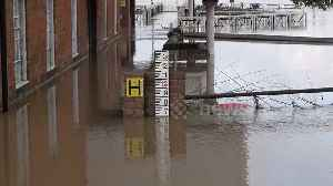 UK floods: River Severn reaches its highest level since 2007 [Video]