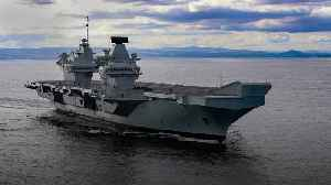 UK's newest aircraft carrier HMS Prince of Wales to make first visit to Portsmouth [Video]