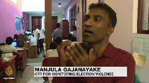 Sri Lanka election: Voting closes in tight presidential race [Video]
