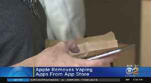 Apple Removes Vaping Apps From App Store [Video]