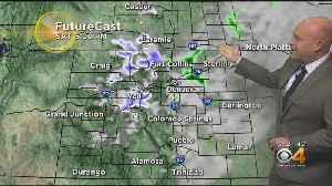 Quick Chance For Rain, Snow This Evening [Video]