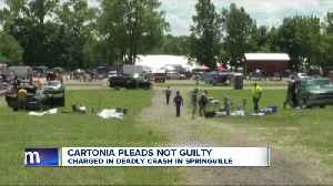 News video: 87-year-old man arraigned in connection with death of man at Springville flea market