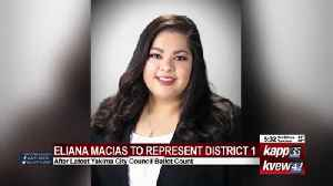 Macias appears to be clear winner in race for Yakima City Council position 1 [Video]