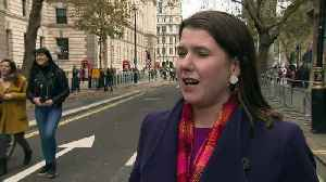 Jo Swinson: Prince Andrew interview 'troubling' to watch [Video]
