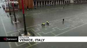 Venice flooded by third record-setting high tide in one week [Video]