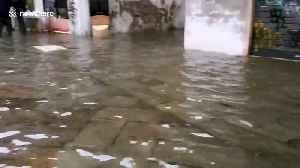 Venice underwater again as high tide brings fresh flooding [Video]