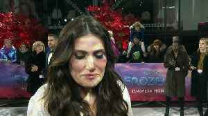 Idina Menzel chats Elsa, Oscars and John Travolta! [Video]