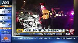 1 dead after two-vehicle crash on Hwy 27 in Davenport [Video]