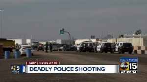 Mesa police officers fatally shoot man who pointed gun [Video]