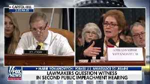 News video: Jim Jordan Draws Laughter When Jabbing Schiff