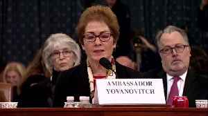 News video: White House budget official testifies in impeachment probe